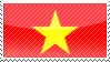 Vietnam stamp by assscrew28