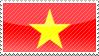 Vietnam stamp by assscrew28