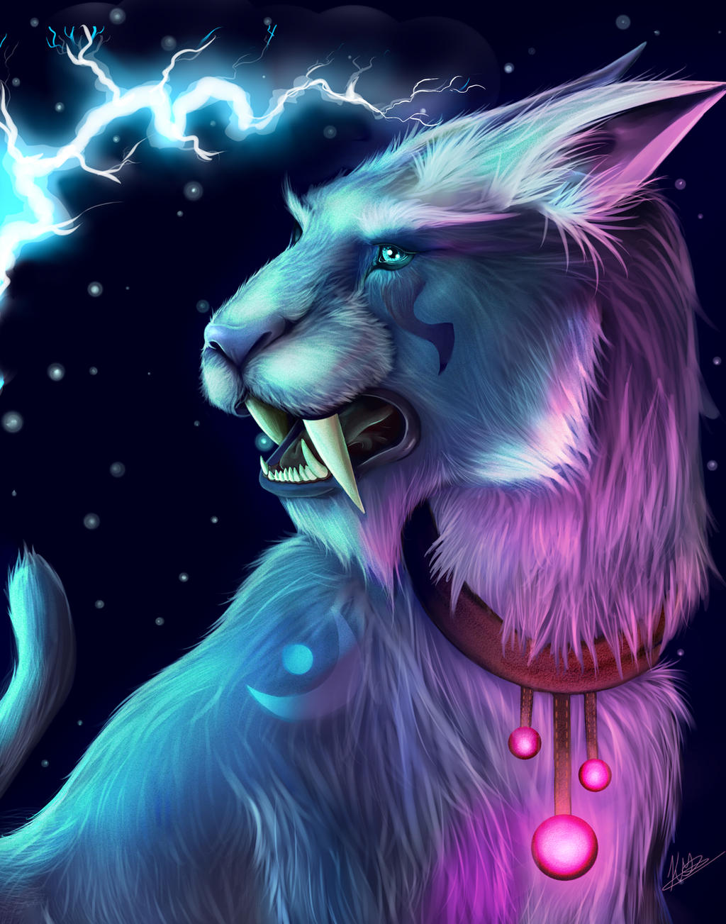 Night Elf Druid Cat Form by River-Painted-Gold on DeviantArt