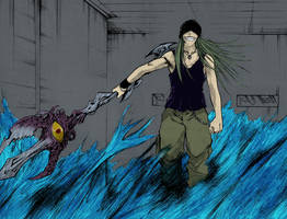 Flame of Recca - Joker by blindedTrickster