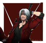 Drawing: Dante by kugelcruor