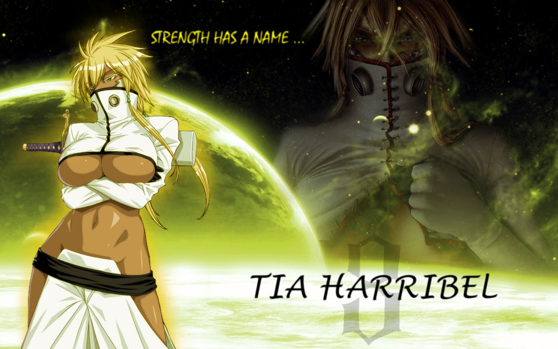 strength has a name: tia harrilbel by germanyangel