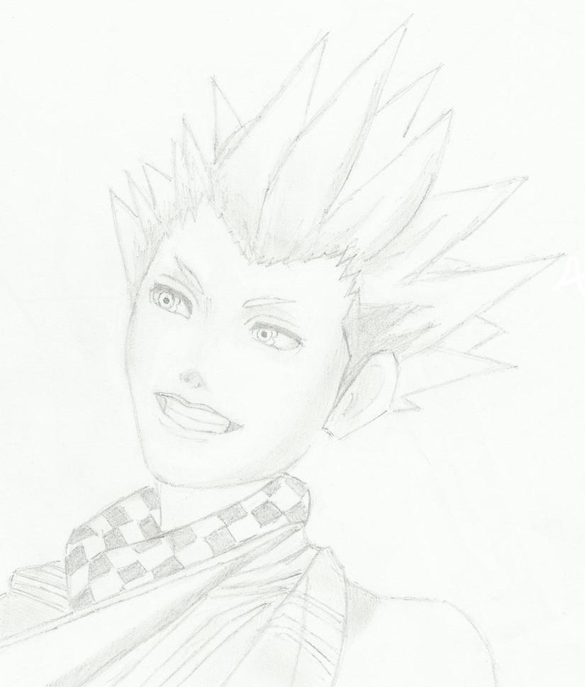 Lea Kingdom Hearts by RoxyValentine