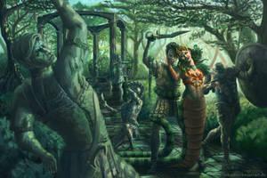 Medusa's Garden by SebastianBecker