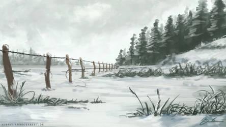Winterfield by SebastianBecker