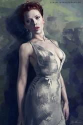 Scarlett Johansson Study by SebastianBecker