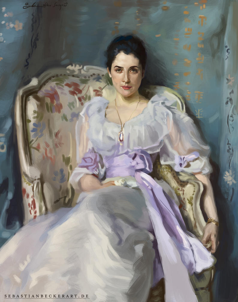 Lady Agnew of Lochnaw - John Singer Sargent Master by SebastianBecker