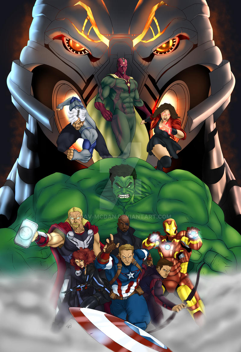 Avengers Age Of Ultron By Iloegbunam On Deviantart: Avengers: Age Of Ultron By Trav-mcdan On DeviantArt