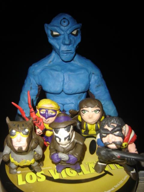 Watchmen by plastilinero