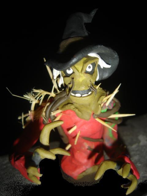 Scarecrow by plastilinero