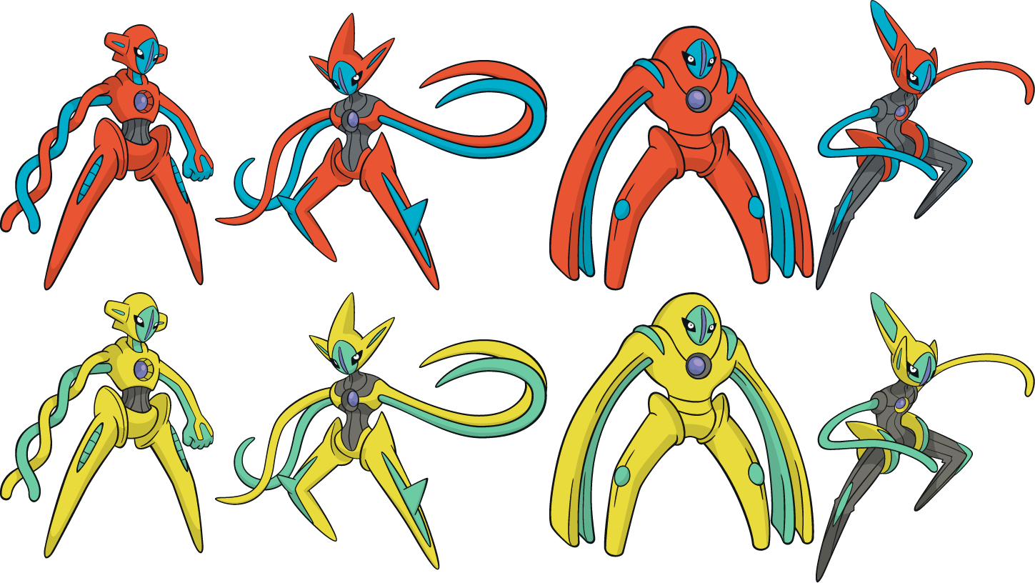 pokemon how to change deoxys form