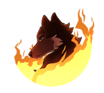 WoLF   In Flame by Skystar261