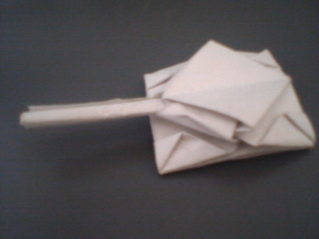 Paper tank How to make an origami Tank Easy to do only New Origami ...   480x640