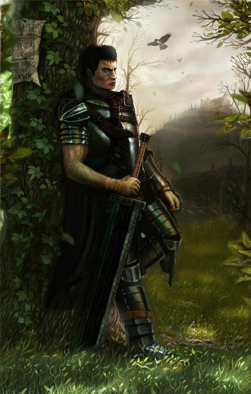 Guts The Black Swordman by GutsBerserk