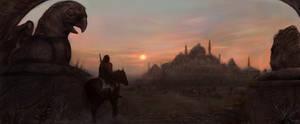 Desert City by Joseph-C-Knight