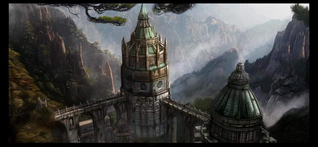 Wizards Tower by GutsBerserk