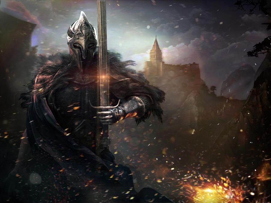 Armoured Knight by GutsBerserk