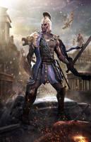 Greek Warrior by Joseph-C-Knight