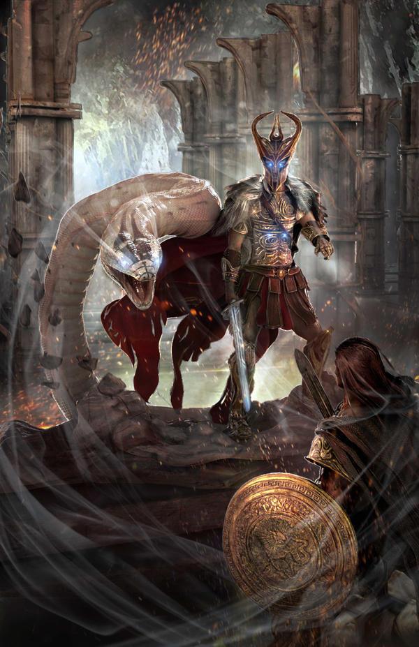 Warrior Wizard by GutsBerserk