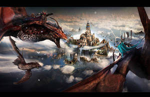 Dragon City by Joseph-C-Knight
