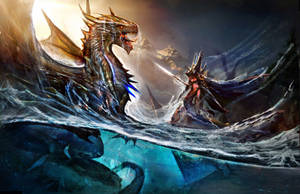 Nordic Dragon Rises by Joseph-C-Knight