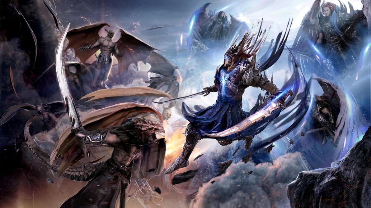 Battle of Heaven Oracles by Joseph-C-Knight