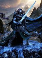 Barbarian Warchief by Joseph-C-Knight