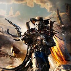 Scull Cowboy