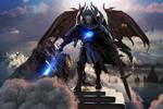 Battle Angel Warrior by Joseph-C-Knight