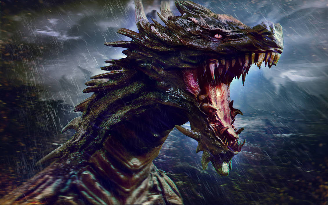 Dragon Storm by Joseph-C-Knight