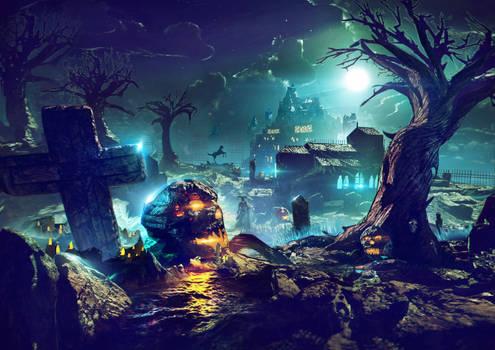 Halloween Concept art