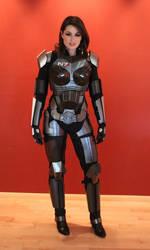 Completed Femshep armor