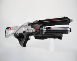 Completed N7 Valkyrie Assault Rifle by NaughtyZoot