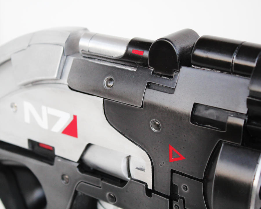 N7 Valkyrie Metal replica by NaughtyZoot