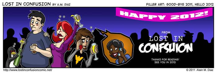 LiC Webcomic New Year 2012 by AMDiazArt