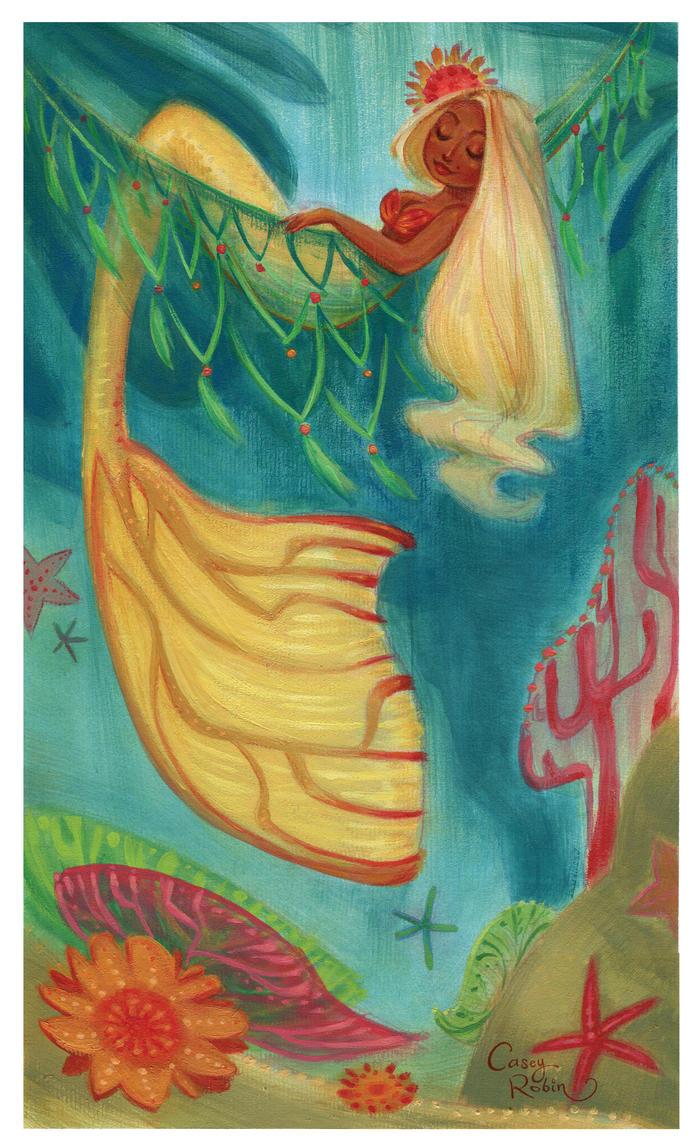 Summer Mermaid by caseyrobin