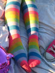 Colorful Legs 2 by Calicomeow