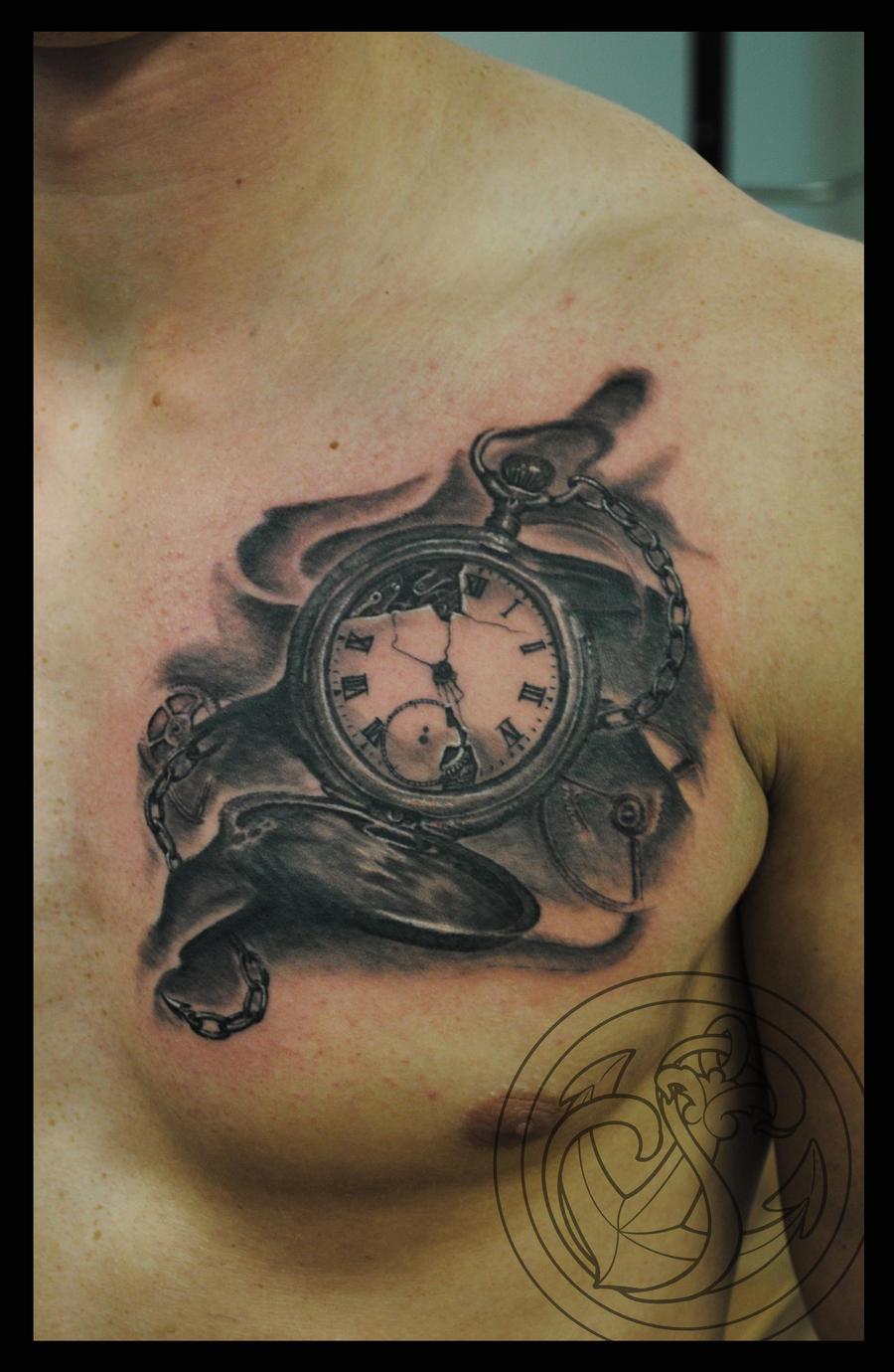 pocket watch by RosaroterPanda on DeviantArt