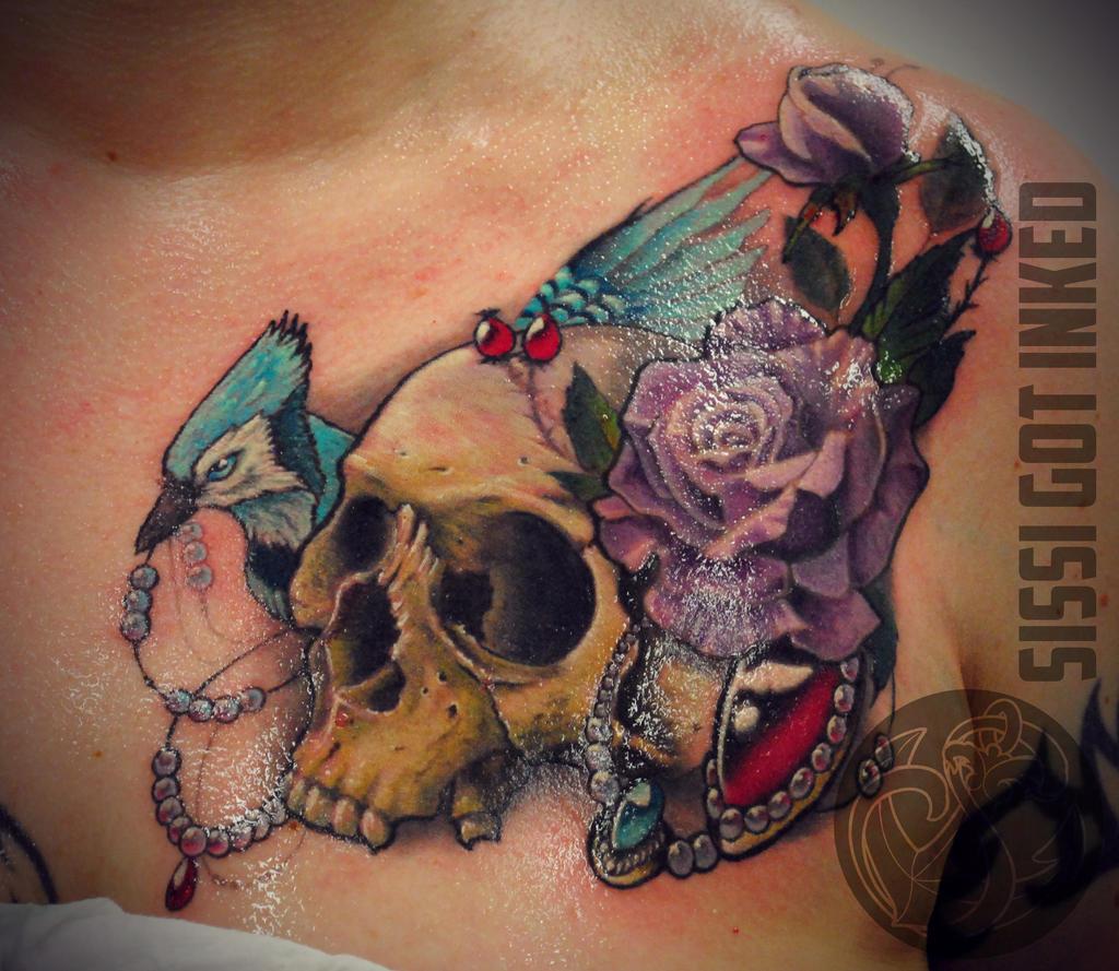 Blue Jay Tattoo Ideas Blue Jay Bird Tattoo
