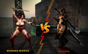 WW vs ARTEMIS (who will win.......) by tanyamorrison25