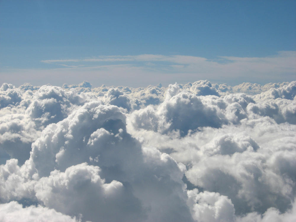 High Above The Clouds by AllyCatastrophe