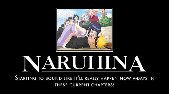 NaruHina Motivational Poster by sasumiofjapan