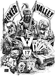 Wicked Valley crazy SKULL action! by ShaneConneryVolk