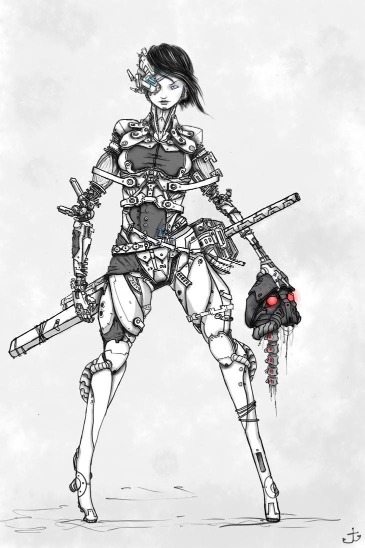 Girls Are Robots By Captain-Jesse On DeviantART