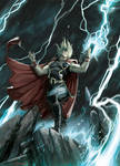 Thor by AndreaMeloni