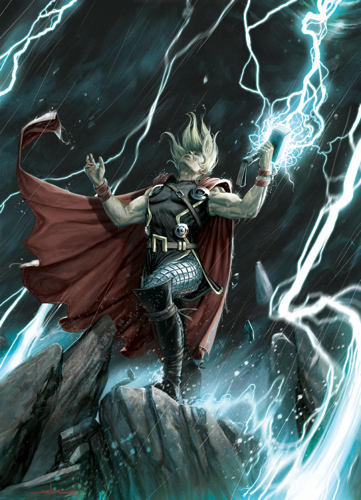 artwork gods lightning marvel - photo #1