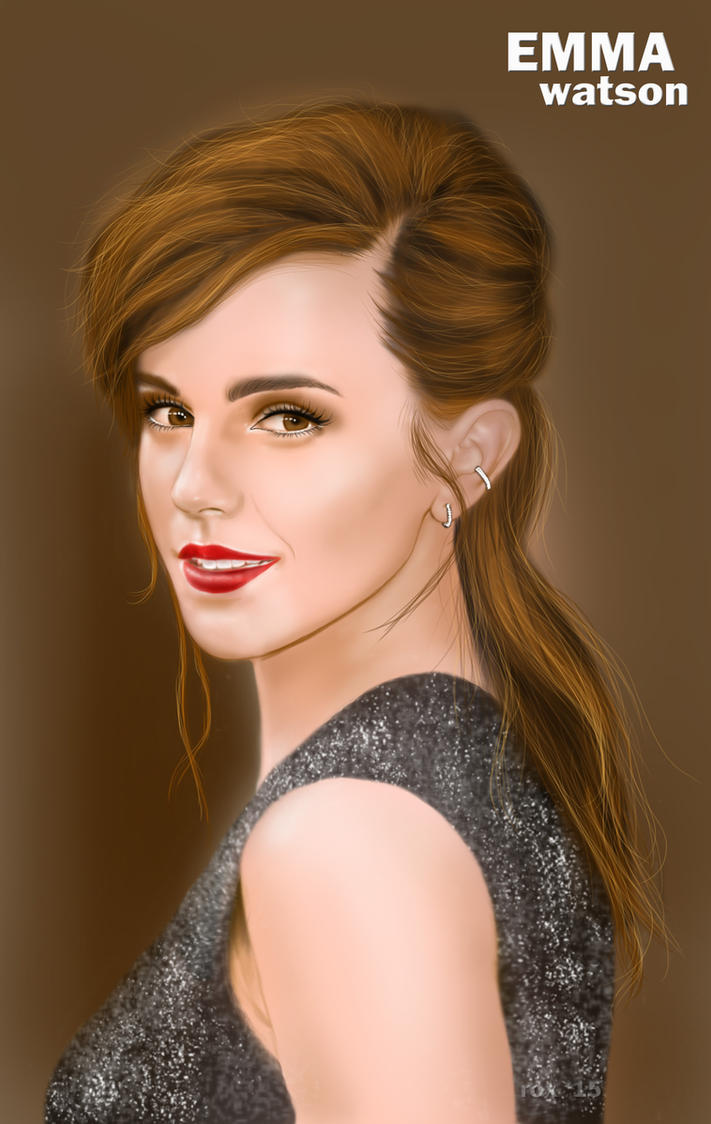 Emma Watson by uyanfam25