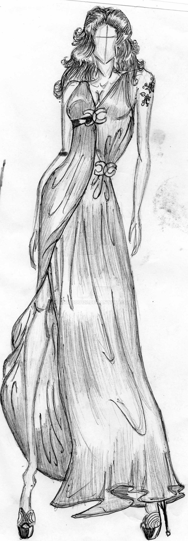 fashion sketching by doudou127 on deviantart