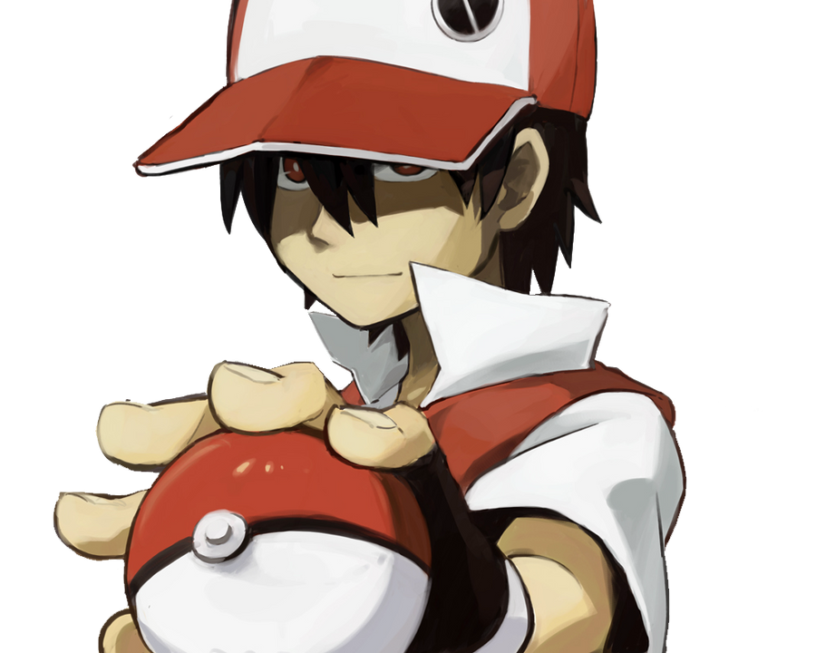 Top 5 Favorite Video Game Characters Pokemon_trainer_red_render_by_oxeyclean-d4xlibs