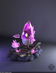 Hollow Knight Crystal Guardian by Volatile-Vertex